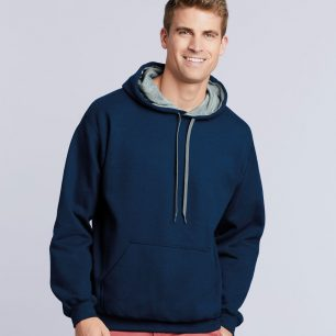 Gildan Heavy Blend™ Contrast Hooded Sweatshirt