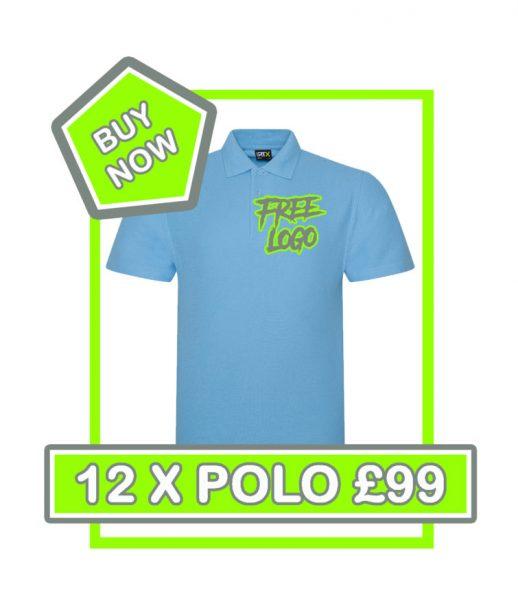 RTX Polo Shirt £99 Deal 1