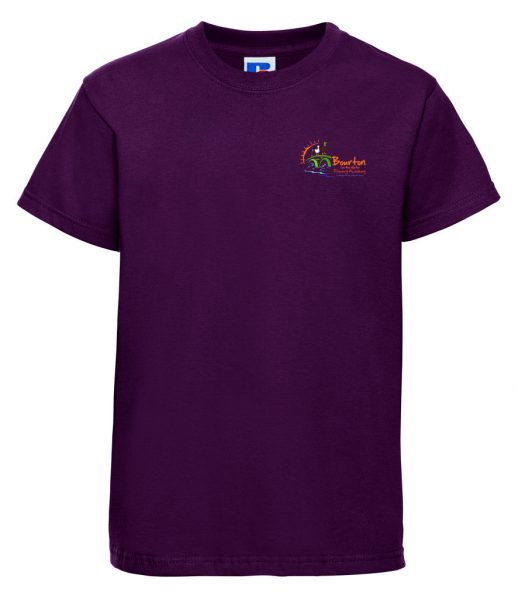Bourton On The Water Primary Academy PE T-shirt 1