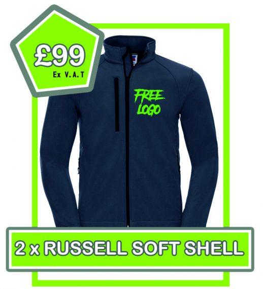Russell Soft Shell £99 Deal 1
